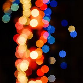 Festive lights by Caesar Jees - Uncategorized All Uncategorized ( colour, festival, night, vibrant, light, bokeh, colorful, mood factory, happiness, January, moods, emotions, inspiration )