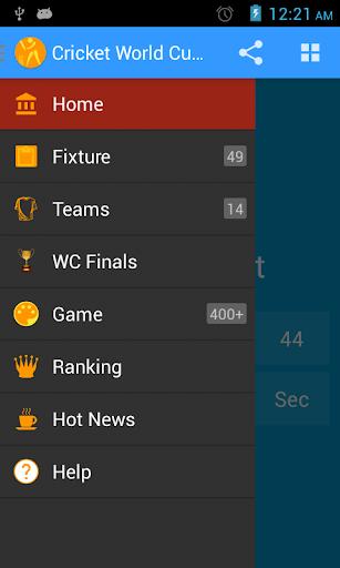 Cricket Quiz WC Fixture 2015