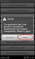 Screenshot of AcerNidus - Bug Report Service