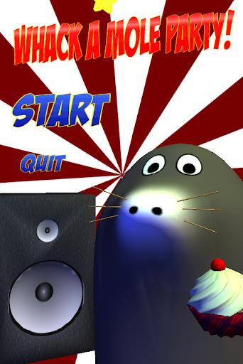 Whack a Mole Party