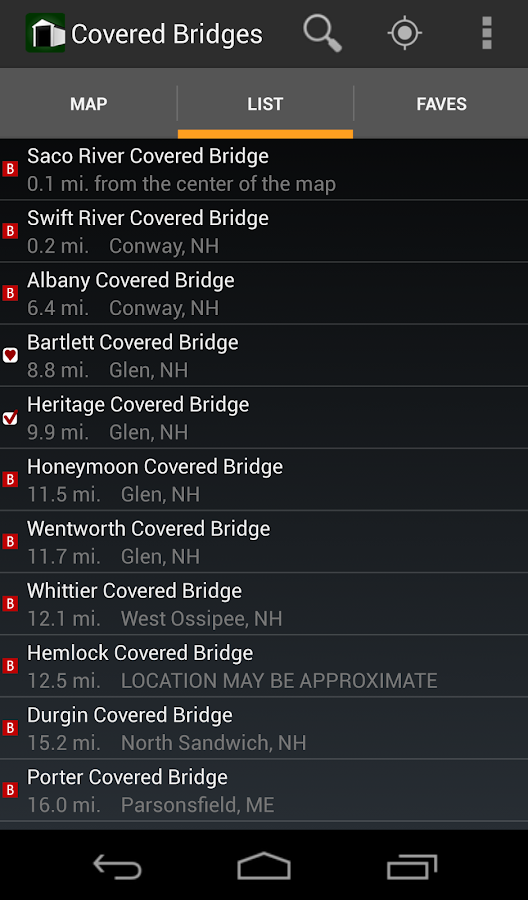 Covered Bridges- screenshot
