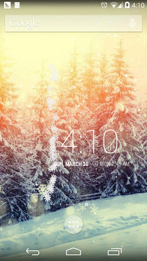 Snow Merry X-mas wallpaper HD