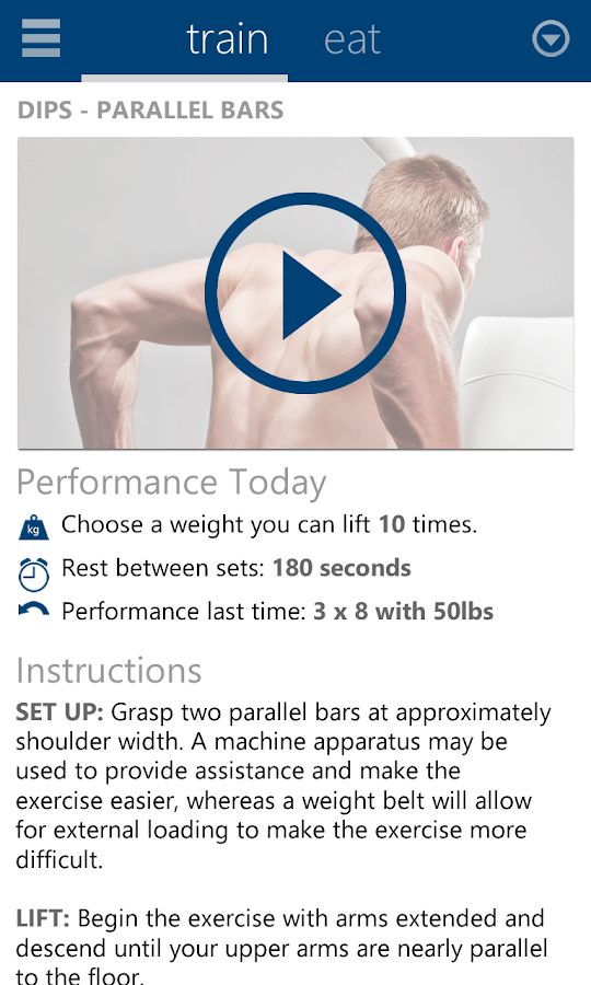 BodBot Personal Fit Trainer - screenshot