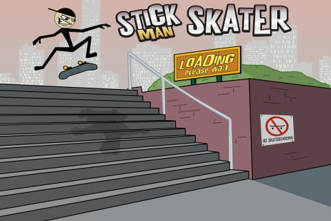 Stickman Skater - screenshot