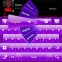 Simply Purple GO Keyboard icon