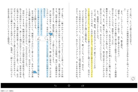 ソニーの電子書籍 Reader™ (Sony Tablet)- screenshot thumbnail