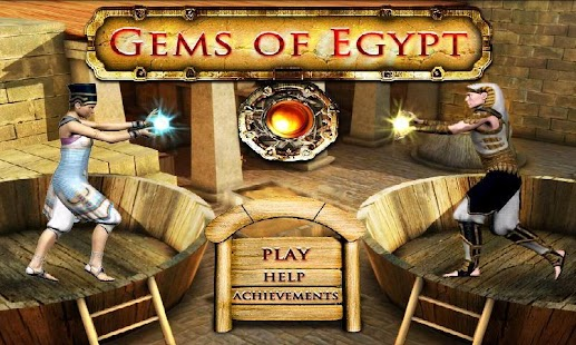 HD Gems of Egypt Match 3 Three