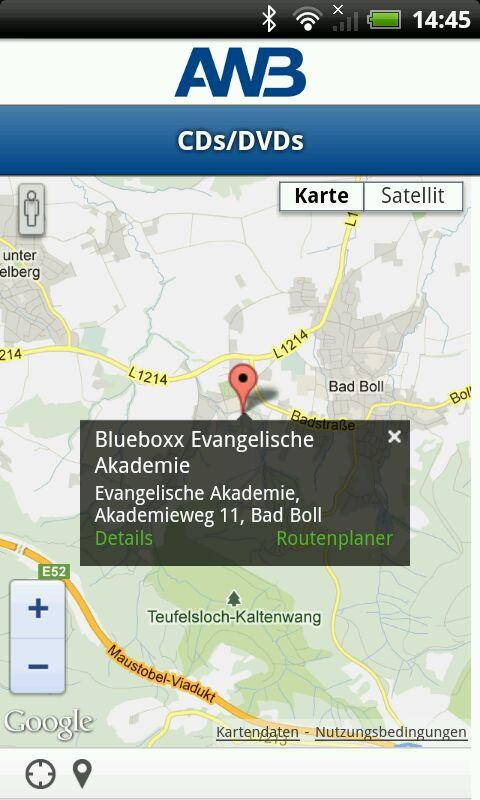 AWB Göppingen - screenshot