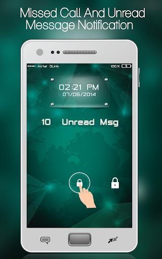 Glow Pad Lock Screen