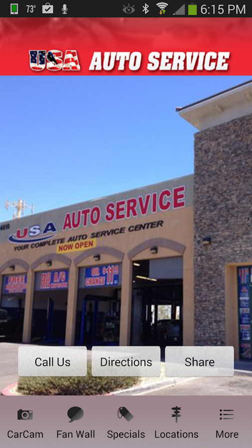 Usa Auto Service Las Vegas Android Apps On Google Play