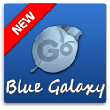Blue Galaxy GO Keyboard Theme icon