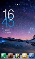 Screenshot of Galaxy GO Launcher Theme