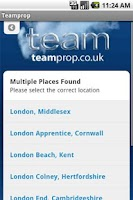 Screenshot of Teamprop
