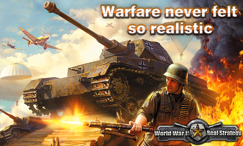 World War: Real Strategy Pro- screenshot