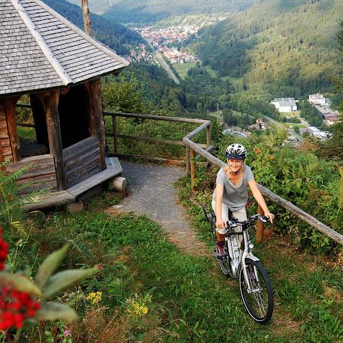 E-Bike im Schwarzwald