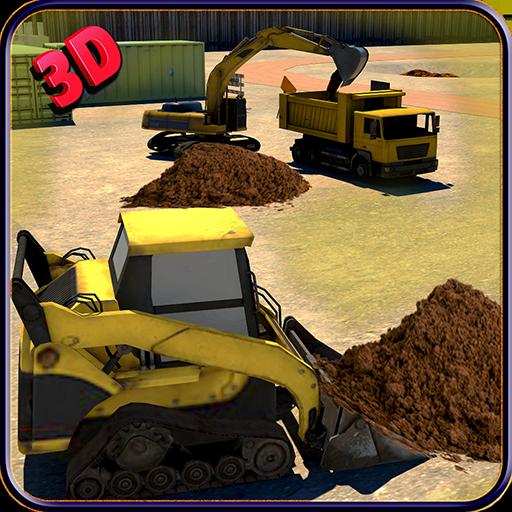 重型挖掘机3D模拟器3 LOGO-APP點子