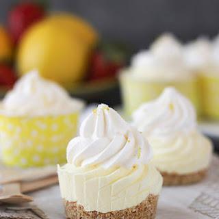 Skinny Lemon Mousse Pies
