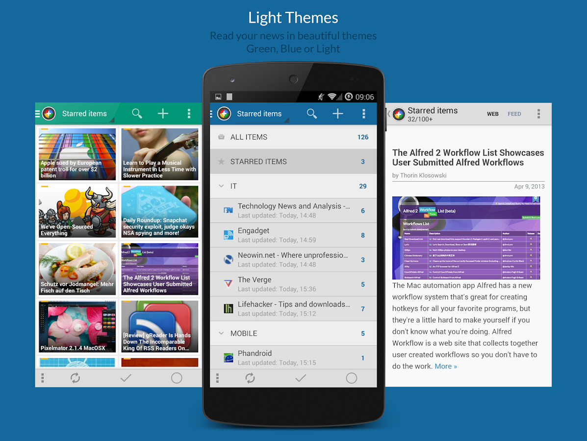 News+ | Google News RSS Reader- screenshot