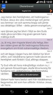 Svenska Bibeln screenshot