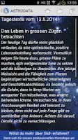 Screenshot of Astrodata Horoskop