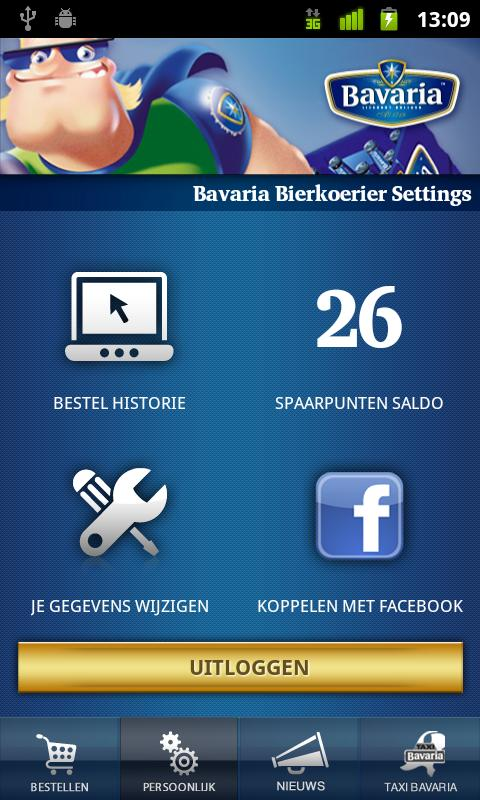 Bavaria Bierkoerier- screenshot