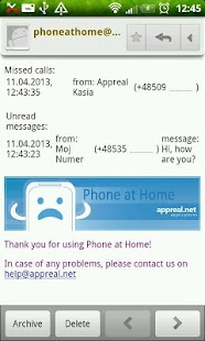 Phone at Home - screenshot thumbnail