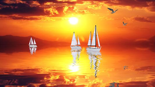 Ocean Dream 3D HD LWP v1.11