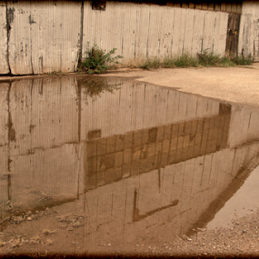 Reflection factory by Beckie Caughman - Buildings & Architecture Decaying & Abandoned ( old, reflection, factory, antique, abandoned )