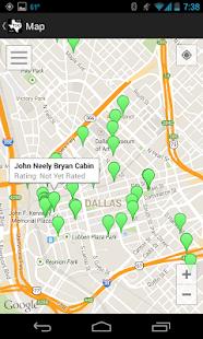 Texas Historical Markers screenshot