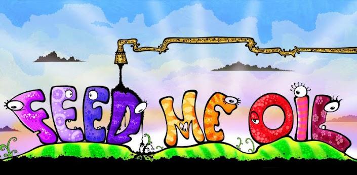 Скачать игру Feed Me Oil для Android. Монстры тоже хотят кушать…