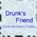 Drunk's Friend Quick Display logo