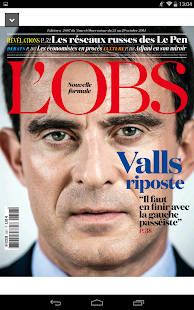 L'Obs - le magazine- screenshot thumbnail