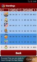 Screenshot of League Spain 2013/2014