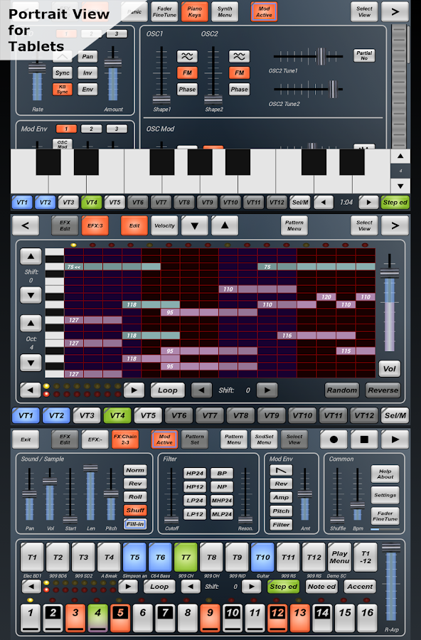 G-Stomper Studio DEMO - screenshot