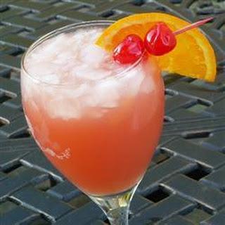 Peach Sex on the Beach Cocktail