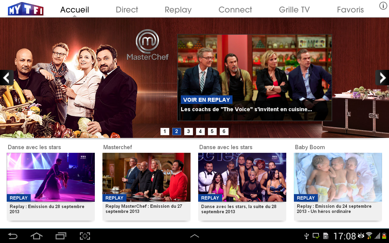 MYTF1 - screenshot