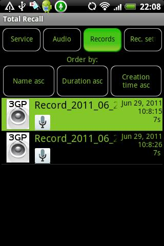 Call Recorder Galaxy S2 FULL v1.9.7b2