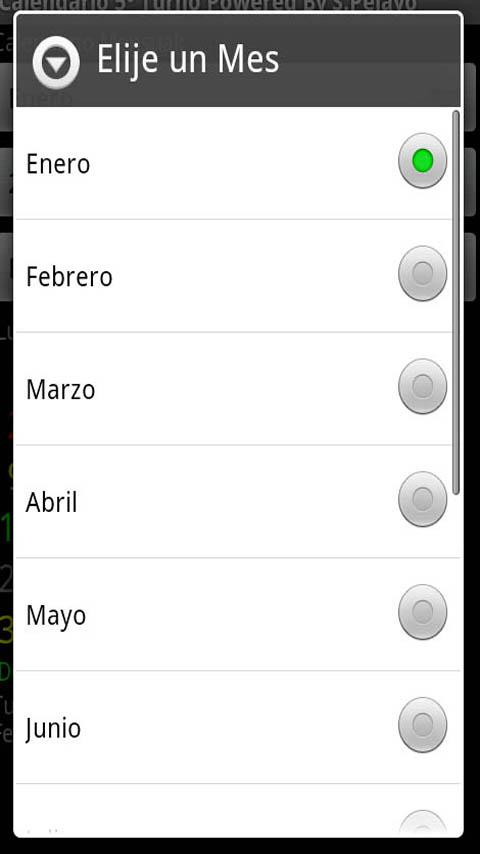Calendario Turnos Acerinox - screenshot