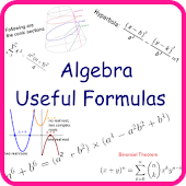 Algebra Useful Formulas