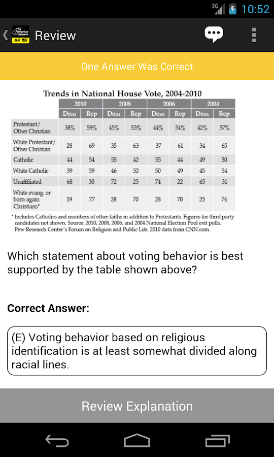 AP US Gov & Politics Exam Prep - screenshot