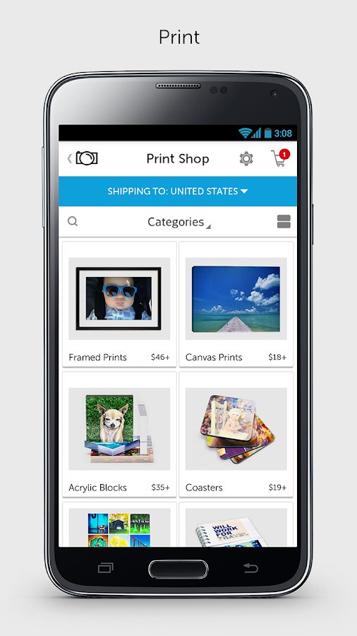 Photobucket Share Print Photos - screenshot
