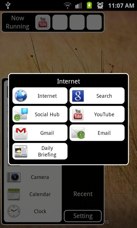 Android Taskbar - screenshot
