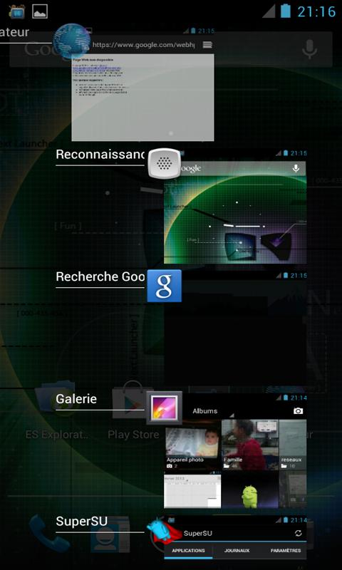 ICS /JB Task Manager /Switcher- screenshot