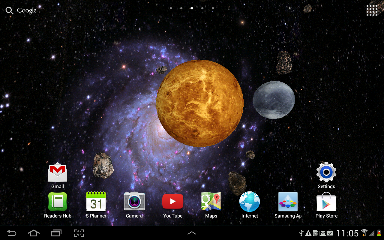 Space Live Wallpaper Apk