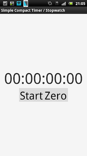 Simple Compact Timer Stopwatch
