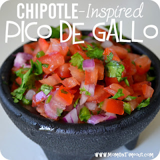 Copycat Chipotle-Inspired Pico de Gallo Salsa