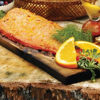 Asian Ginger Marinaded Salmon