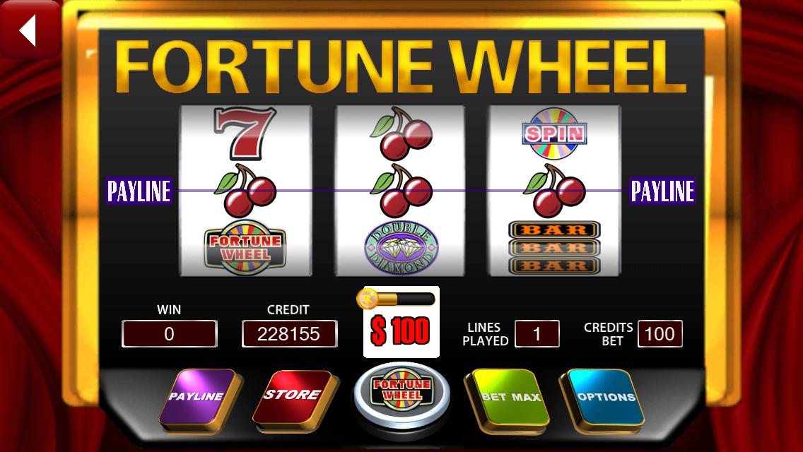 wheel of fortune slot machine simulator