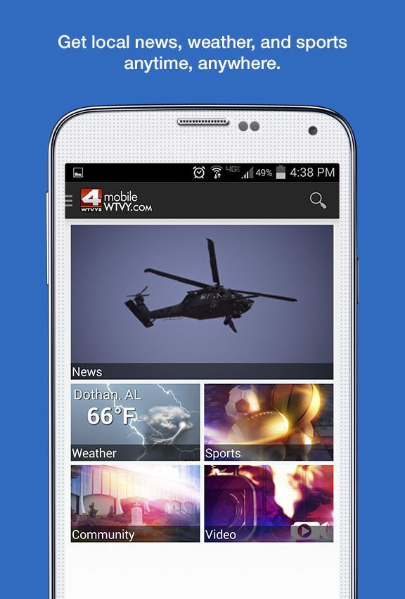 WTVY News- screenshot