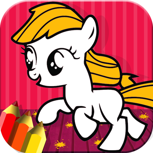 Pony Coloring For Toddlers